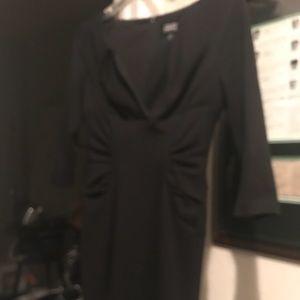 Black dress. Gorgeous cut. Vintage